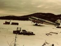 Buffalo Airline Supply Run at Diamond Drill Camp NWT