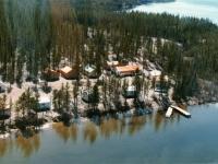 Camp Life at Reed Lake, NWT  -D. Manchak built dock