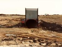 Underground Mine Entry, Lupin NWT - Darvin worked 4000 feet underground
